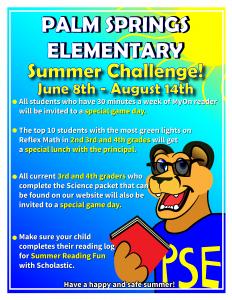 PSE Summer Challenge