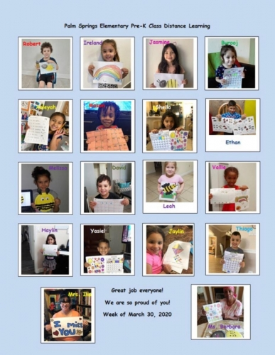 PK Students Distance Learning